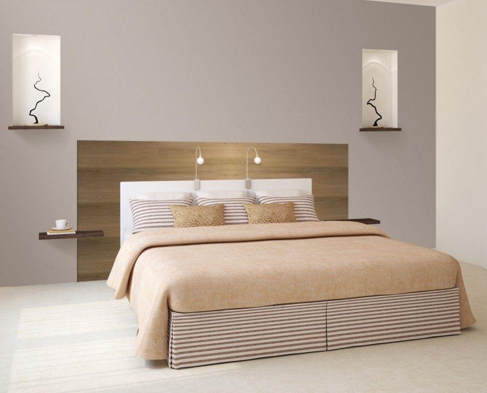 Une t te de lit design avec les lames finies d usine byb7 - Tete de lit pas cher design ...