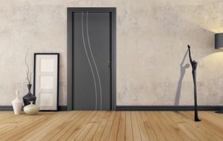 Portes dintérieur en bois et stratifié