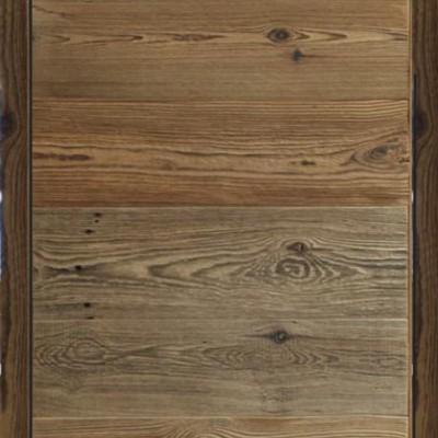 Porte vieux bois fil horizontal
